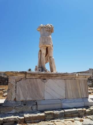 Roman Solider Statue